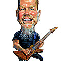 James Hetfield by Art