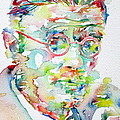 James Joyce Portrait.1 by Fabrizio Cassetta