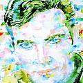 James T. Kirk - Watercolor Portrait by Fabrizio Cassetta