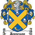 Jameson Coat Of Arms Galway Ireland by Heraldry