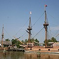 Jamestown Historic Sailingships by Christiane Schulze Art And Photography