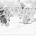 Jamestown Women, 1621 by Granger