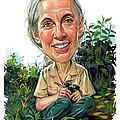 Jane Goodall by Art