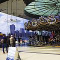 Jane's Carousel 2 In Dumbo - Brooklyn by Madeline Ellis