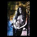 Janis Joplin - Gold by Absinthe Art By Michelle LeAnn Scott