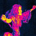 Janis Joplin Psychedelic Fresno 2 by Joann Vitali