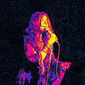 Janis Joplin Psychedelic Fresno  by Joann Vitali