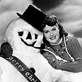 Janis Paige Offering Christmas by Everett