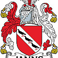 Janns Coat Of Arms Irish by Heraldry