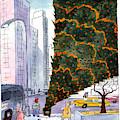 January 3rd At Rockefeller Center by Jack Ziegler