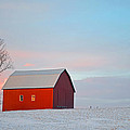 January Barn by Mark Orr