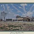 January On Gene Autry Drive Print by Tioga Dan  Sloane