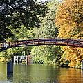 Japanese Bridge  by Christiane Schulze Art And Photography