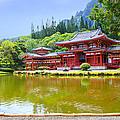 Japanese Byodoin Temple by Ami Parikh