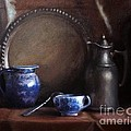 Japanese China And Pewter by Viktoria K Majestic