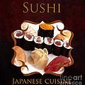 Japanese Cuisine Gallery by Iris Richardson