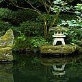 Japanese Garden Calmness by Christiane Schulze Art And Photography