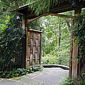 Japanese Garden Gate  by Terri Winkler