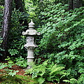 Japanese Garden Lantern by Christiane Schulze Art And Photography