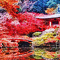 Japanese Garden by Mo T