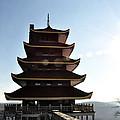 Japanese Pagoda Reading Pa by Bill Cannon