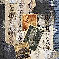 Japanese Postage Three by Carol Leigh
