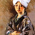 Japanese Woman by Pg Reproductions