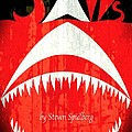 Jaws Minimalist Poster  by Stefano Senise