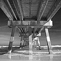 Jax Beach Pier by Jennifer Ann Henry