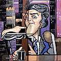 Jay Leno You Been Cubed by Anthony Falbo