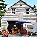 The Old Barn At Jaynes Reliable Antiques And Vintage by Kim Bemis