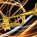 Jazz Art Trumpet by Louis Ferreira