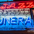 Jazz Funeral And Lamp Nola by Kathleen K Parker