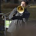 Jazz In Central Park 1 by David Berg