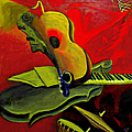 Jazz Infusion by Fli Art