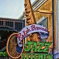 Jazz Kitchen Signage Downtown Disneyland by Thomas Woolworth