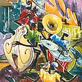 Jazz No. 4 by Elisabeta Hermann