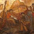 Jazz Quartet by Anita Burgermeister