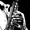 Jazz Saxophonist by Gabriel T Toro