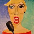 Jazz Singer by Frank B Shaner
