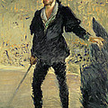 Jean Baptiste Faure In The Opera Hamlet By Ambroise Thomas by Edouard Manet
