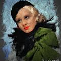 Jean Harlow by Arne Hansen