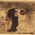 Jean-louis Forain, Christ Stripped Of His Clothes by Quint Lox