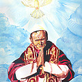 Jean Paul II by Emmanuel Baliyanga