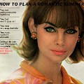 Jean Shrimpton On The Cover Of Glamour by David Bailey