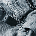 Jeans And Denim In Blue by Christian Lagereek