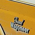 Jeep Grand Wagoneer Side Emblem by Jill Reger