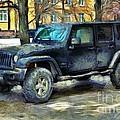 Jeep Wrangler by Sergey Lukashin