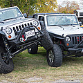 Jeeps In Juxtaposition by JG Thompson