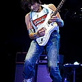Jeff Beck On Guitar 1 by Jennifer Rondinelli Reilly - Fine Art Photography